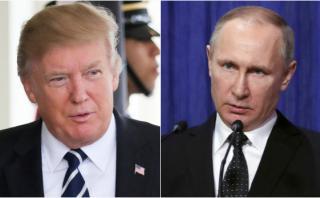 Trump tiende su mano a Putin ante ataque en San Petersburgo