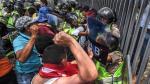 Duros enfrentamientos entre la policía y opositores en Caracas - Noticias de julio chavez