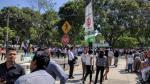 San Isidro: falsa amenaza de bomba movilizó agentes de la UDEX - Noticias de region policial lima
