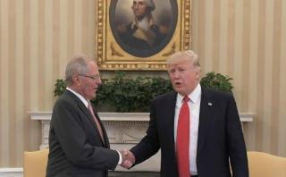 PPK agradece a Donald Trump por ayuda ante emergencia en Perú