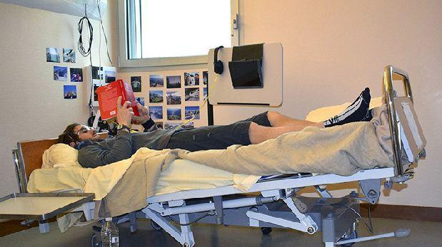Científicos pagan 16 mil euros a voluntarios que queden dos meses acostados