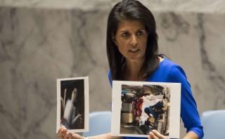 EE.UU. amenaza con acción unilateral en Siria si la ONU fracasa