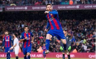 Barcelona goleó 3-0 a Sevilla con doblete de Lionel Messi