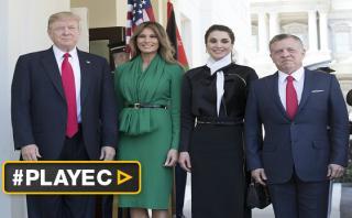 Trump recibe al rey Abdalá II para hablar de conflictos armados