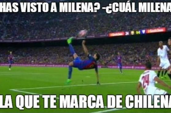 Barcelona vs. Sevilla: los graciosos memes del triunfo culé