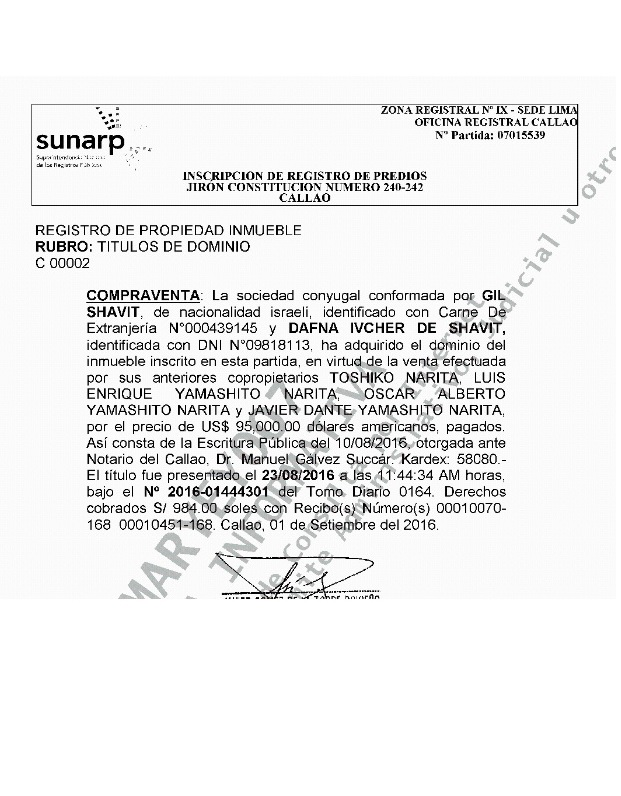 Hay 21 inmuebles registrados a nombre de Gil Shavit.(Fotos:El Comercio)
