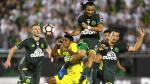 Chapecoense derrotó 2-1 a Atlético Nacional en ida de Recopa - Noticias de central fox