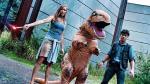 La hilarante carrera de un 'dinosaurio' practicando parkour - Noticias de devin graham