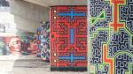 Shipibos le dan color al entorno de la Línea 1 del Metro - Noticias de rincón del autor
