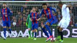 Neymar y el gran lujo que fue ovacionado por todo el Camp Nou