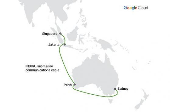Google conectará Singapur y Australia con cable submarino