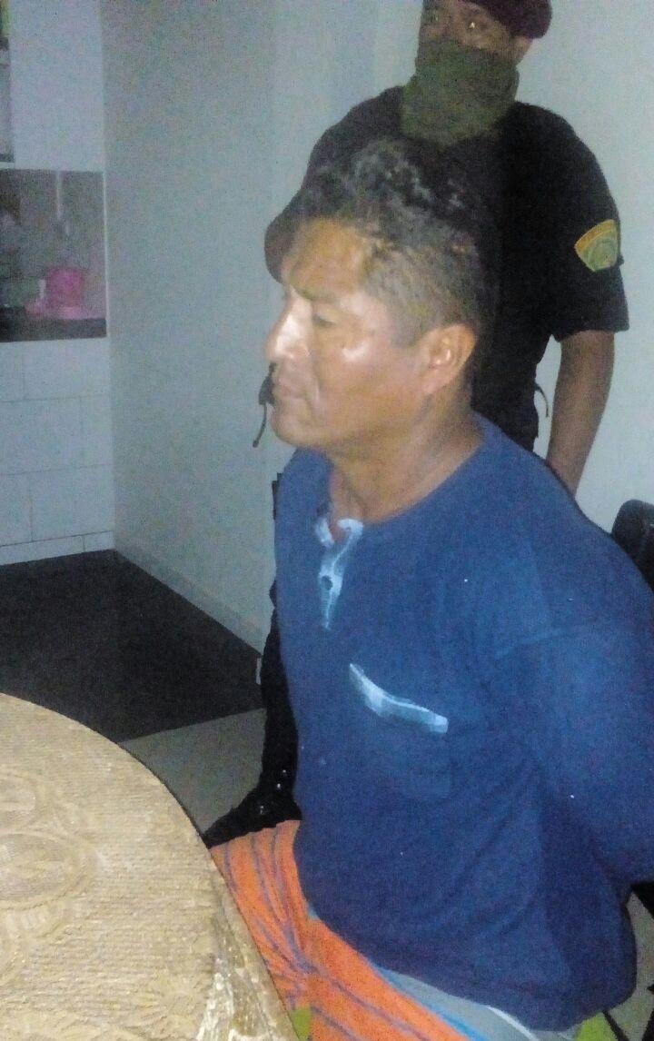 Entre los 35 detenidos por presuntamente integrar la banda criminal 'Los Rucos' figura Jorge Antonio Anable Palacios, alias 'Ruco' (FOTO: PNP)