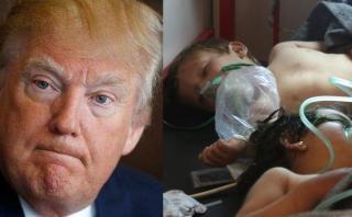 """Trump: """"Lo que hizo Bashar al Assad en Siria fue terrible"""""""