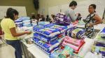 Piura: altruista labor de universitarios en la zona de desastre - Noticias de voluntariado