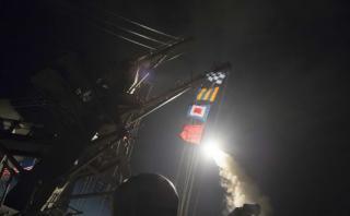 Oposición siria saluda ataque de EE.UU. y pide que continúen