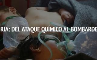 Siria: Del ataque químico al bombardeo [INTERACTIVO]