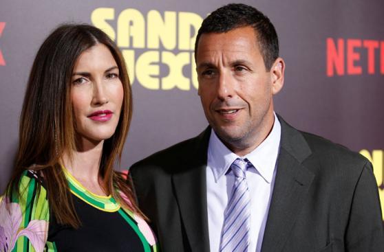 Netflix: Adam Sandler y esposa en la premiere de