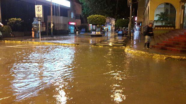 Tumbes soportó varios días con intensas lluvias y tormentas eléctricas. (Foto: Miguel Neyra / El Comercio)