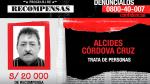 Ofrecen recompensa por informar sobre 10 tratantes de personas - Noticias de paola davila