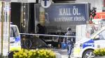 Estocolmo: El desolador panorama tras el atentado terrorista - Noticias de policía atropellado