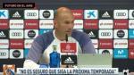 Madrid: Zidane sorprende y siembra dudas sobre su continuidad - Noticias de leganés