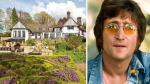 La ex mansión de John Lennon está a la espera de un comprador - Noticias de julian lennon