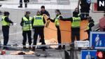 Estocolmo: Atentado con camión deja al menos 4 muertos [VIDEO] - Noticias de accidente de tren