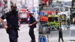 """Ataque en Estocolmo: """"Sonó como una bomba"""" [TESTIMONIOS] - Noticias de policía atropellado"""