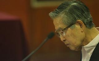 Alberto Fujimori fue internado nuevamente en una clínica
