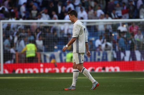 Cristiano Ronaldo: lamento y decepción por empate del Madrid