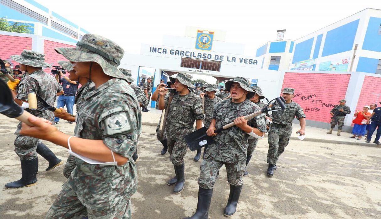 Fuerzas Armadas y PNP realizarán labores de recolección de residuos. (Foto: Presidencia de la República)