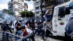 Venezuela: Policías y manifestantes se enfrentan en las calles - Noticias de andres bello