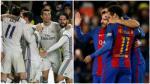 Real Madrid y Barcelona: el fixture que les queda en la Liga - Noticias de real madrid vs eibar