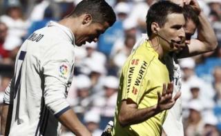 Cristiano Ronaldo habría insultado al árbitro Ricardo de Burgos