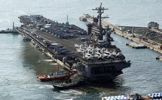 EE.UU. envió portaaviones a la península de Corea