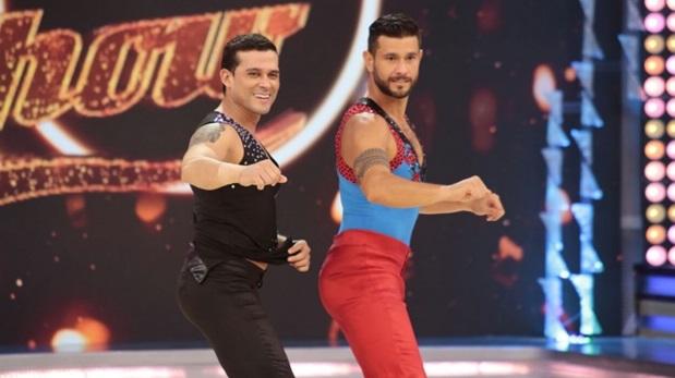 Christian Domínguez y Yaco Eskenazi en la segunda gala de