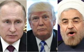 Putin y Rohani lanzan mensaje de unidad contra EE.UU.