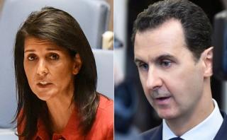 Siria: Gobierno de Trump apunta a la salida de Al Asad