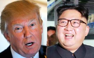 """Trump busca acabar con """"amenaza"""" nuclear de Corea del Norte"""