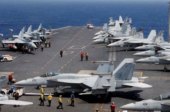 Así es el portaaviones que envió EE.UU. a la península de Corea
