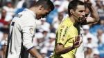 Cristiano Ronaldo habría insultado al árbitro Ricardo de Burgos - Noticias de ricardo carvalho