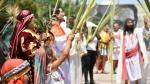 Semana Santa: escenifican el Domingo de Ramos en Rímac y Lima - Noticias de don mario