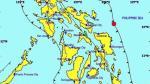 Terremoto de magnitud 5,7 sacude región central de Filipinas - Noticias de filipinas