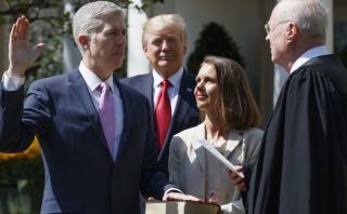 Confirmado: Neil Gorsuch es el nuevo juez de la Corte Suprema