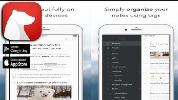 Conoce a Bear, la mejor app de notas para iOS