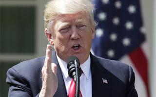 EE.UU. a Siria: Si arrojan gas a un bebé, Trump responderá