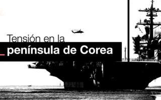 Así es el poderoso portaaviones que viaja a península de Corea