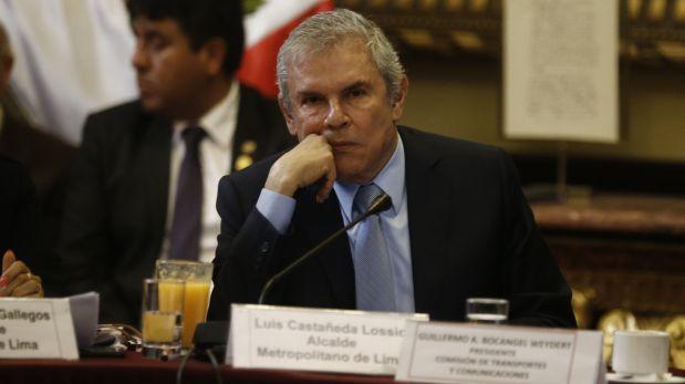 Citarán a Luis Castañeda para que explique situación de peajes