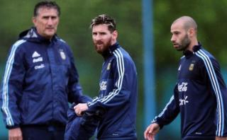Bauza llamó a jugadores para despedirse: esto pasó con Messi