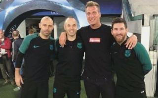 Foto de Maxi López y Leo Messi origina suspicacias sobre Icardi